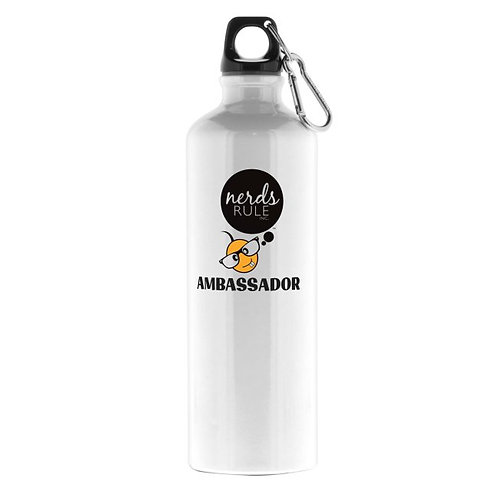 Ambassador  26 oz. Custom Aluminum Water Bottle
