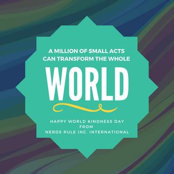 Happy World Kindness Day!