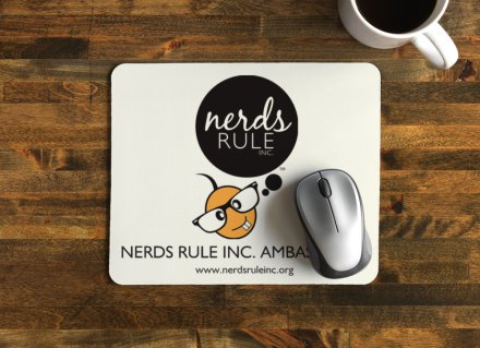NERDY MOUSE PAD