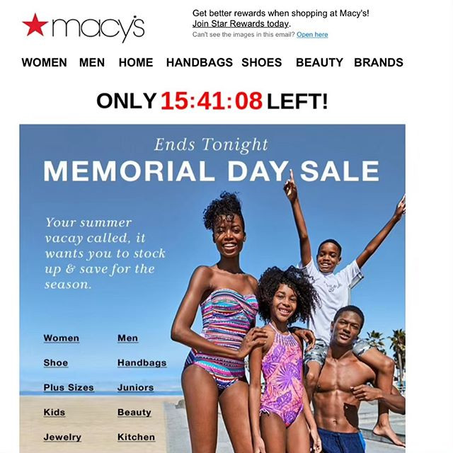 Payton for Macy's Summer Campaign 2018
