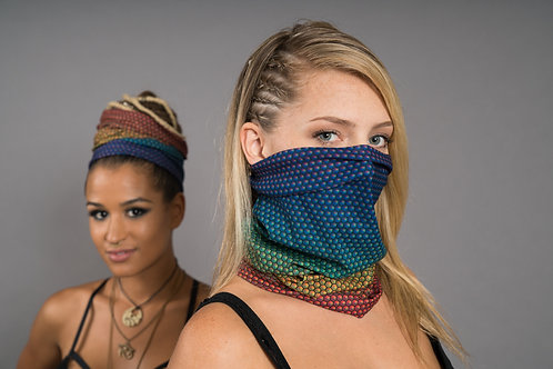 Rainbow Hex - Face Mask