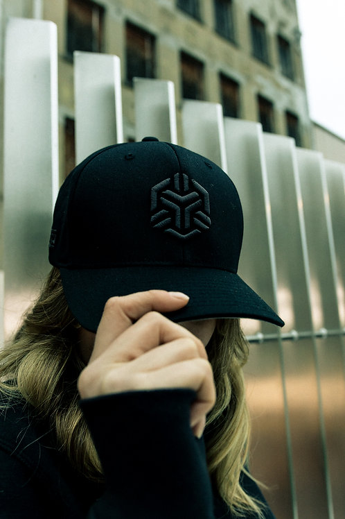 Fitted Cap - Black/Gray