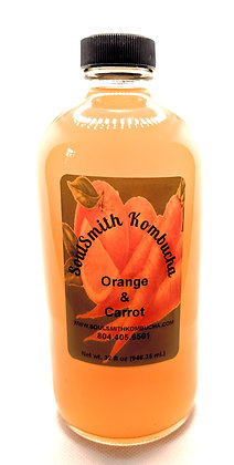 SoulSmith Orange & Carrot Kombucha 32 fl. oz.
