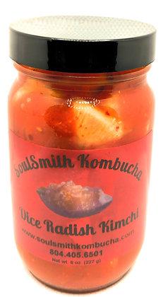 SoulSmith Kombucha Dice Radish Kimchi 8 oz.