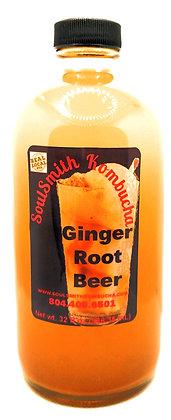 SoulSmith Ginger Root Beer Kombucha 32fl. oz.