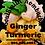 Thumbnail: SoulSmith Ginger Turmeric Kombucha 32 fl. oz.