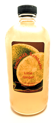SoulSmith Lime Ginger Kombucha 32 fl. oz.