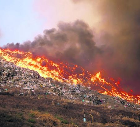 How to prevent landfill fires through early detection?