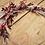 "Thumbnail: Trockenblumen Loop ""Malina"""