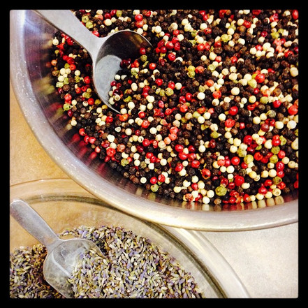 In production_ Lavender Peppercorns..jpg