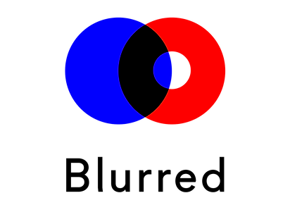 blurred recordings logo