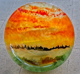 Sky on fire, SOLD