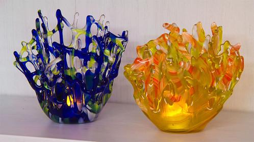 Modern Lace tea lights