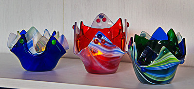 Handkerchief tea lights
