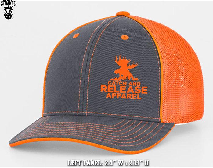 Catch-&-Release Logo - Flex Fit Caps