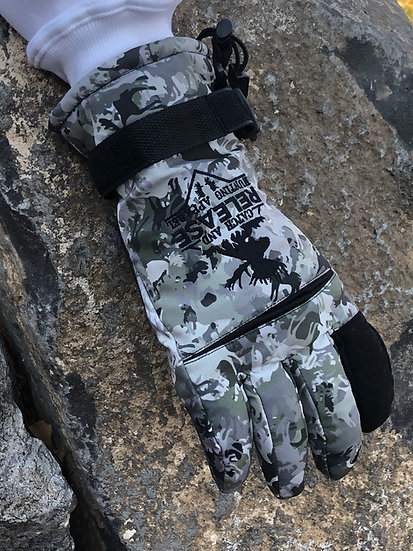 Insulated Waterproof Gloves (M1-Green)