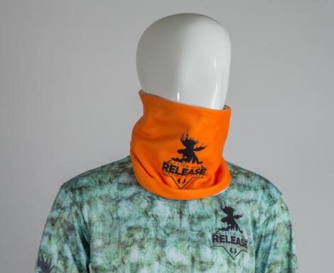 Neck gaiter (M1-Desert) / Orange (Reversible )