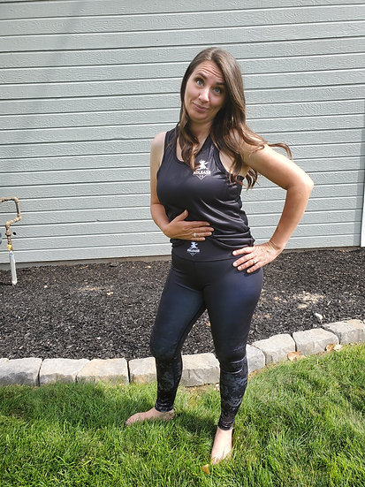 "Fitness Leggings ""Black Tactical"""