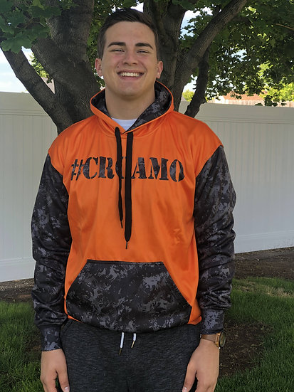 Orange/Black #CRCamo Hoodie (Unisex)