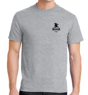 T-Shirt (Grey) Logo 1