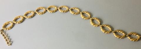 80s Huge Goldtone Chain Belt