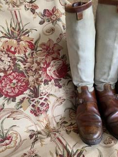 Piece of Vintage Ralph Lauren Collection 1994 Fabric