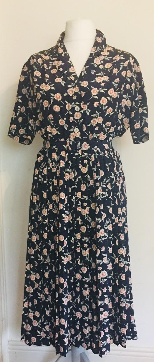 70s 'Eastex' Tea Dress
