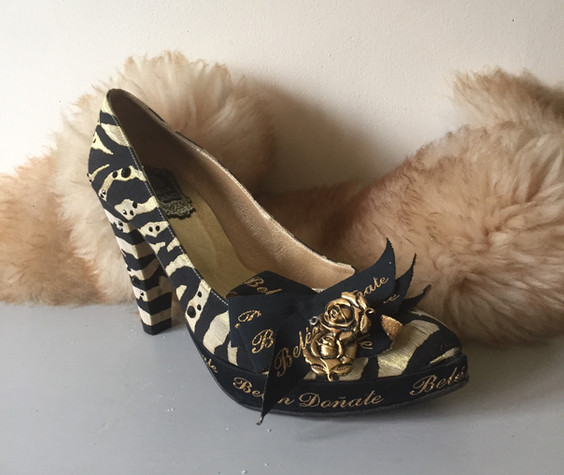 'Belen Donate' Designer Court Shoes
