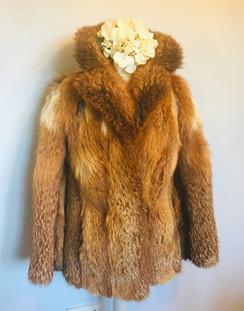 RESERVED 80s VINTAGE Fur Jacket