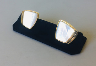 70s Mother of Pearl Cufflinks