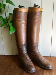 SOLD Antique Riding Boots