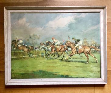C1920s Horse Racing Print