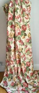 Vintage Tea Rose Curtain
