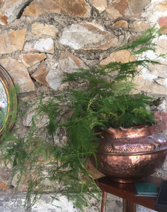 SOLD Arts and Crafts Copper Planter