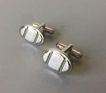 60s Silvertone Cufflinks