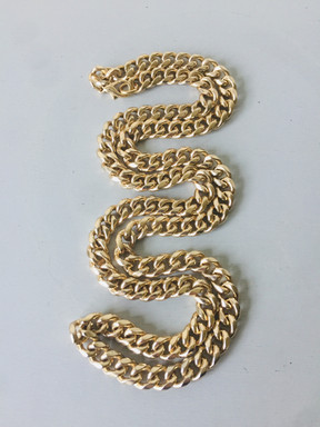 80s Heavy Goldtone Chain