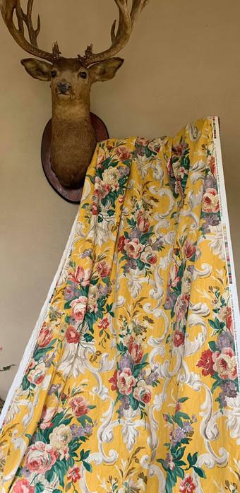 Large Piece of Designer Fabric Nina Campbell