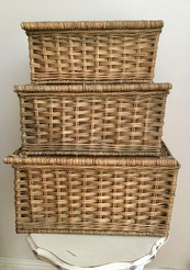 Set of Three Vintage Baskets