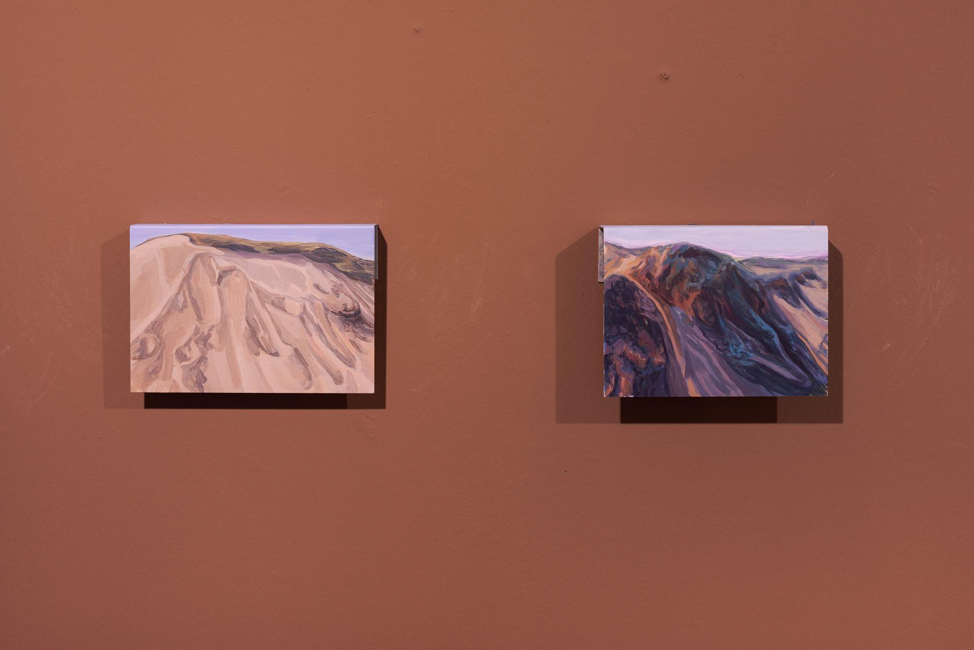 """Vista da exposição """"Areia Líquida"""" / Exhibition view DMF 2020"""