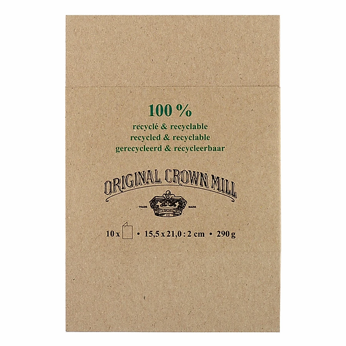 Original Crown Mill 100% Recycled Folded Cards