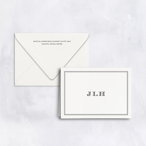 The Jordan Folded Note - Set of 25