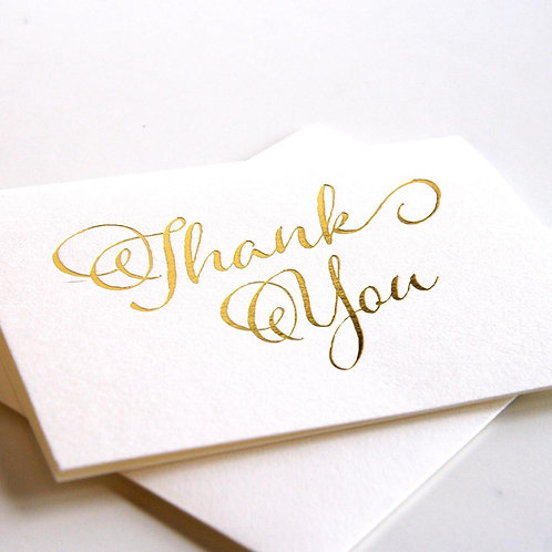 Fancy Thank you Notes