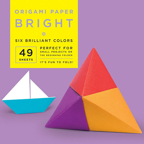 Origami Paper - Bright Colors