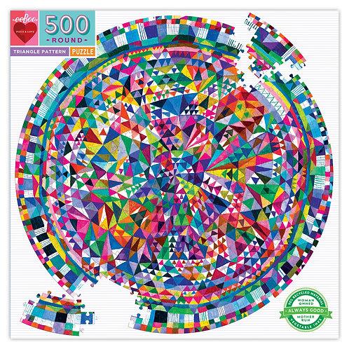 Triangles Round Puzzle - 500Pc.