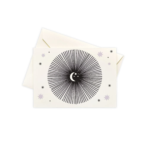 Moon Burst Boxed Notes - Set of 10