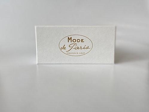 G. Lalo Mode de Paris Boxed Stationery, Grey