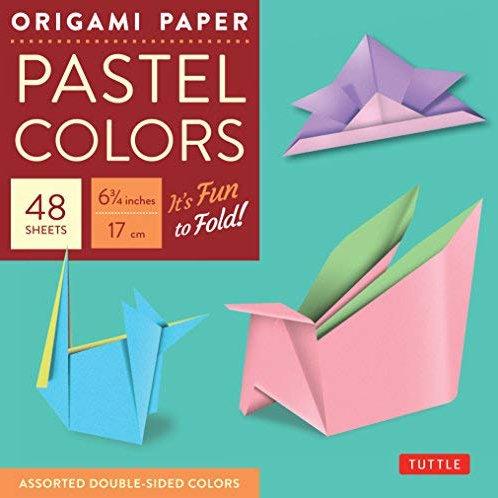 Origami Paper - Pastel Colors