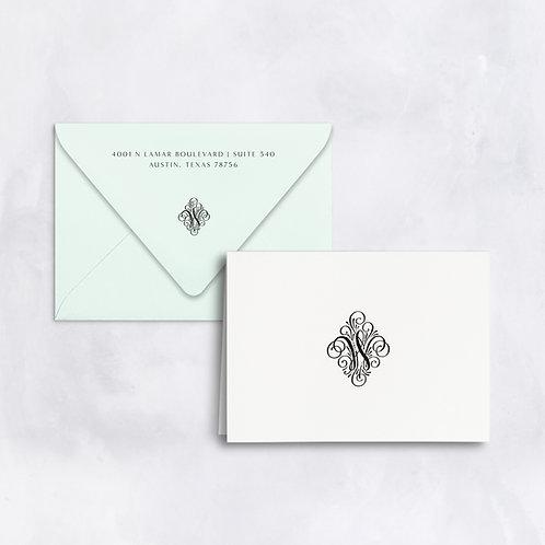 The Wren Folded Note - Set of 25