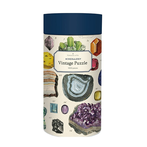 Cavallini Mineralogy - 1000 Pc.