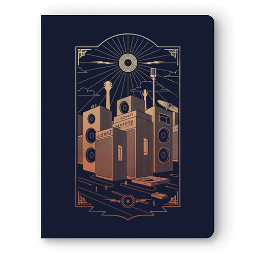 Detroit Rock City LayFlat Notebook by Denik